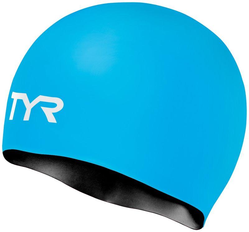 Шапочка для плавания Tyr Silicone Reversible Cap, цвет: голубой. LCSREVLCSREVДвухсторонняя силиконовая шапочка TYR – изготовлена из высококачественного материала устойчивого к воздействию хлорированной воды, что гарантирует долгий срок службы. Материал шапочки не вызывает раздражения кожи и других аллергических реакций. Прекрасный вариант для тренировок в бассейне.