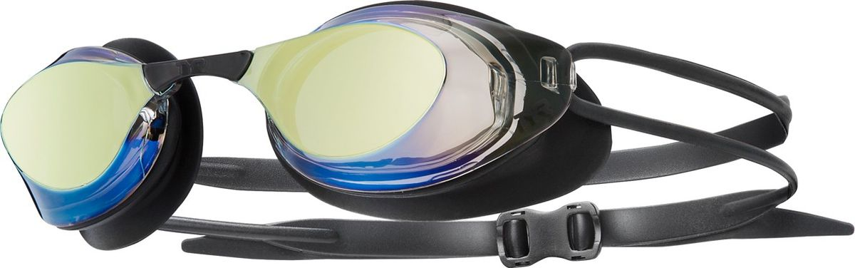 Очки для плавания Tyr Stealth Racing Mirrored, цвет: золотой. LGSTLTHMLGSTLTHMЗеркальные стартовые очки для плавания TYR Stealth Racing подходят для профессионалов и любителей. Они обладают всеми качествами, которые особенно ценят профессионалы. Обтекаемая форма способствует отличной гидродинамике, что позволит спортсмену развить максимальную скорость в воде. Уплотнитель, сделанный из прочного гипоаллергенного силикона, обеспечит жесткую посадку и герметичность. Двойной силиконовый ремешок и 5 вариантов вставки переносицы дает возможность максимально удобно настроить очки.