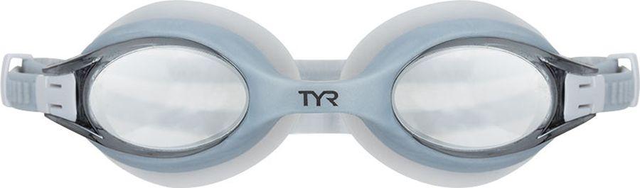 Очки для плавания TYR Big Swimple Mirrored, цвет: серебристый. LGBSWM tyr tyr carbon thin strap tri support bra