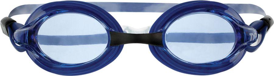 Очки для плавания Tyr Velocity, цвет: голубой. LGV купить очки для плавания стартовые