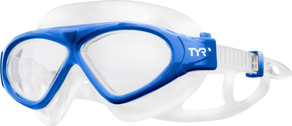 Маска для плавания Tyr Magna Swim Mask, цвет: голубой. LGMSMALGMSMAМаска TYR Magna Swim Mask отлично подойдет как для занятий спортом и отдыхом на открытой воде, так и для тренировок в бассейне. Широкие линзы обеспечивают четкий обзор под водой и защитят от ультрафиолетовых лучей. Уплотнитель и ремешок изготовленные из силикона, обеспечивают комфортную и удобную посадку маски. Легкая настройка маски позволит подобрать нужный вам размер.