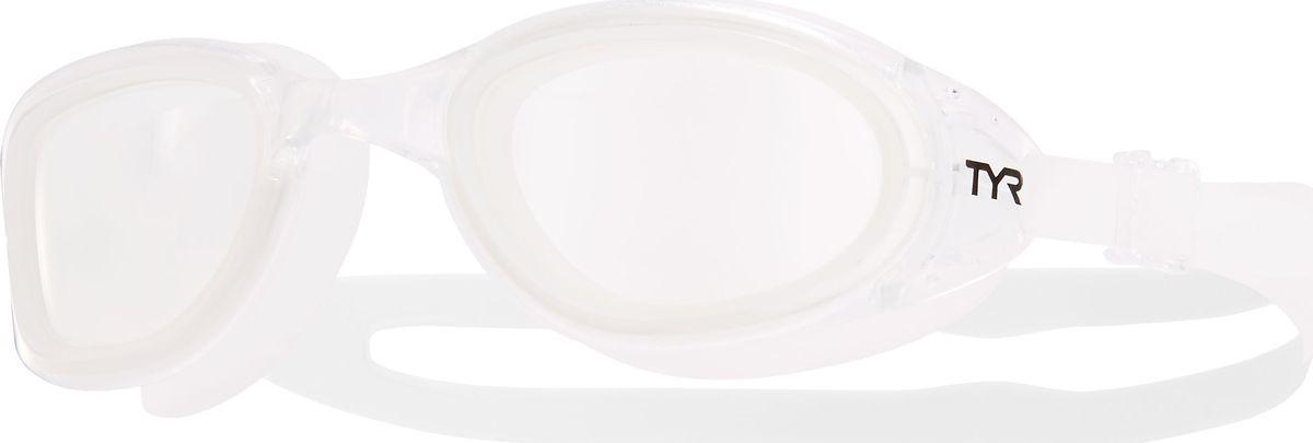 Очки для плавания Tyr Special Ops 2.0 Transition, цвет: прозрачный. LGSPXLGSPXОни обыграли саму мать-природу, очки Special Ops 2.0 с фотохромными линзами. Передовая технология реагирует на изменение условий освещенности, автоматически изменяет цвет линзы от дымчатого (на открытой воде) к прозрачному (в бассейне) и наоборот. Позволяет плавать, не обращая внимания на то светит ли ярко солнце или облачная погода. Все очки серии TYRSpecialOPS 2.0 имеют прочный, силиконовый, гипоаллергенный уплотнитель, который сохраняет защиту от протекания и форму в течение всего срока службы. Линзы во всех очках серии TYRSpecialOPS 2.0 уже обработаны средством предотвращающим запотевание линз, что исключает необходимость в течение продолжительного времени повторное использование спрея. Объединённая конструкция переносицы идеально подходит под разные типы строения лица, также очки обладают широким периферическим обзором для оптимального видения в воде. TYRSpecialOPS 2.0 - наши лучшие очки для универсального использования, они идеально подойдут для триатлона, плавания в открытой воде, и тренировок в бассейне.