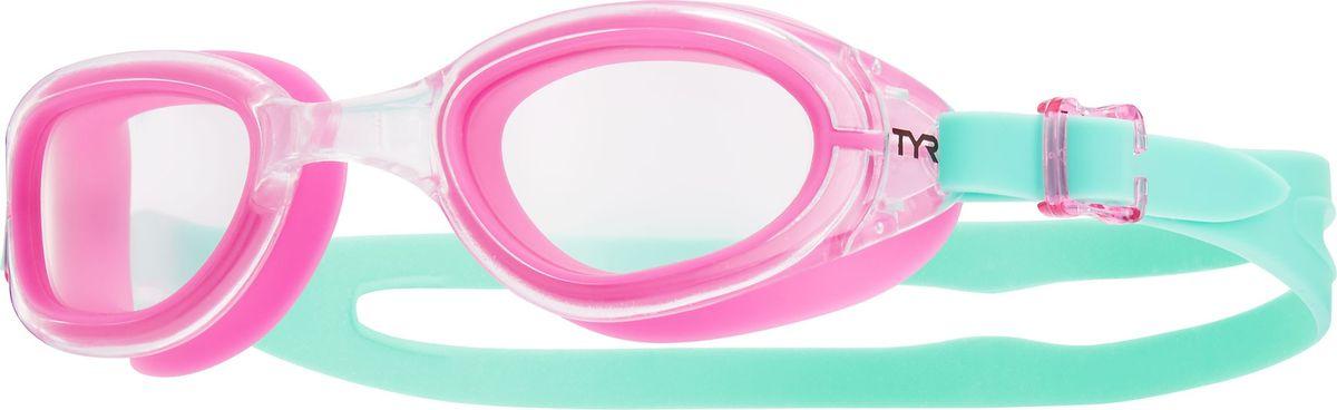 Очки для плавания Tyr Special Ops 2.0 Transition Femme, цвет: прозрачный, розовый, ментоловый. LGSPXSLGSPXSОни обыграли саму мать-природу, очки Special Ops 2.0 с фотохромными линзами. Передовая технология реагирует на изменение условий освещенности, автоматически изменяет цвет линзы от дымчатого (на открытой воде) к прозрачному (в бассейне) и наоборот. Позволяет плавать, не обращая внимания на то светит ли ярко солнце или облачная погода. Все очки серии TYRSpecialOPS 2.0 имеют прочный, силиконовый, гипоаллергенный уплотнитель, который сохраняет защиту от протекания и форму в течение всего срока службы. Линзы во всех очках серии TYRSpecialOPS 2.0 уже обработаны средством предотвращающим запотевание линз, что исключает необходимость в течение продолжительного времени повторное использование спрея. Объединённая конструкция переносицы идеально подходит под разные типы строения лица, также очки обладают широким периферическим обзором для оптимального видения в воде. TYRSpecialOPS 2.0 - наши лучшие очки для универсального использования, они идеально подойдут для триатлона, плавания в открытой воде, и тренировок в бассейне.