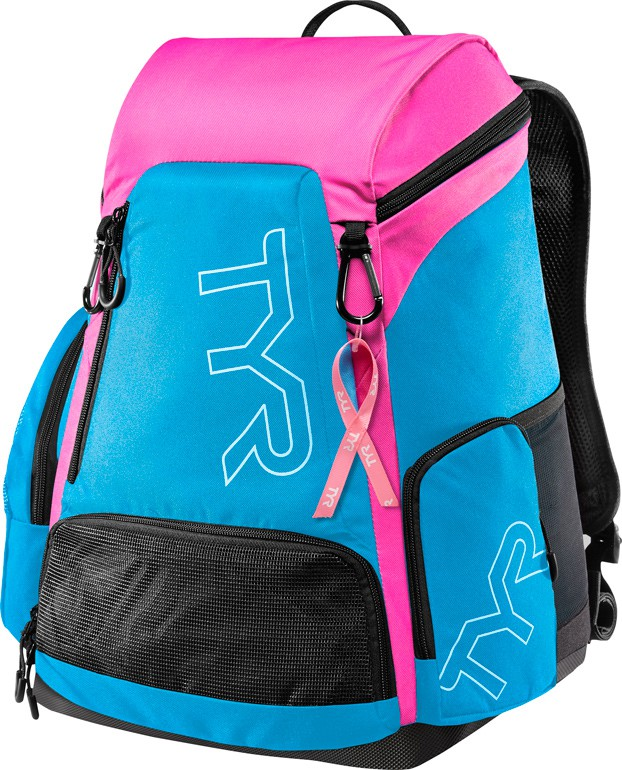 "Фото Рюкзак Tyr ""Alliance 30L Backpack PINK (BCRF)"", цвет: голубой, розовый. LATBP30B"