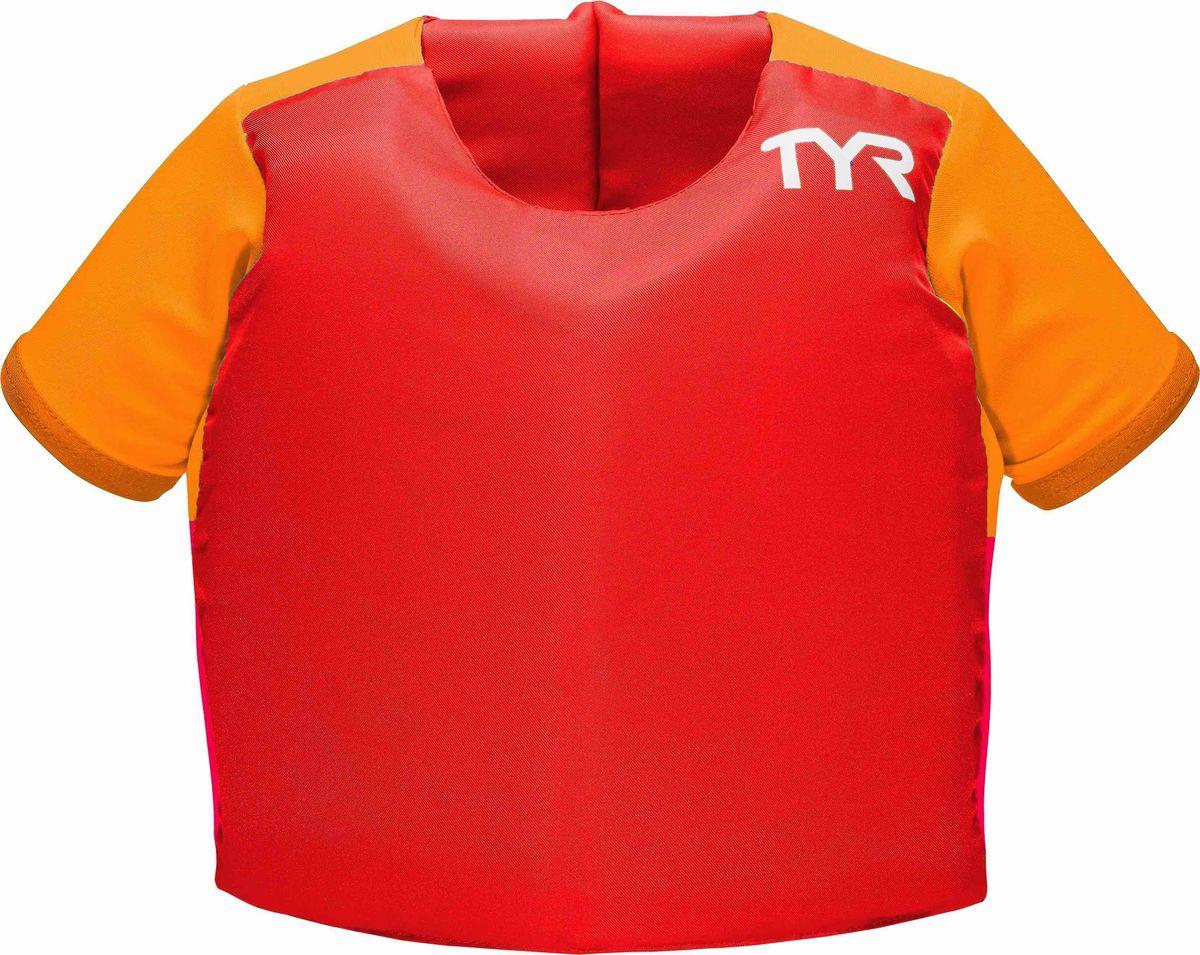 Жилет для плавания Tyr Kids Flotation Shirt, цвет: красный. LSTSSRTELSTSSRTEВ помощь родителям специалисты американской компании TYR разработали линию Start to swim для обучения детей плаванию с раннего возраста.Представляем вам уникальную* экипировку для обучения плавания детей в бассейне и на открытой воде TYR KIDS FLOTATION SHIRT, который представляет из себя усовершенствованный жилет для плавания с рукавами. Рукава обеспечивают дополнительную фиксацию, при этом не сковывая движений. Кроме того, рукава служат дополнительным барьером от солнечных лучей, т.к. сделаны из солнцезащитной ткани с максимальным фактором защиты UPF 50+TYR KIDS FLOTATION SHIRT удобен и прост в использовании. Двойной ремешок, фиксирующийся на спине, обеспечит надежную фиксацию. С помощью TYR KIDS FLOTATION SHIRT ваш ребенок сможет развить:• правильное положение тела в воде• чувство уверенности в бассейне и на открытой воде• правильную технику плаванияРекомендовано для обучения плаванию детей в присутствии взрослых.TYR KIDS FLOTATION SHIRT полностью соответствует стандартам безопасности детской продукции.Размер: one sizeДля детей от 14 до 23 кг*Заявлено на получение патента