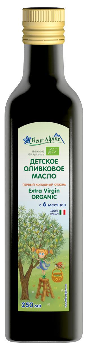 Fleur Alpine Organic масло детское оливковое, с 6 месяцев, 250 мл масло fleur alpine детское оливковое масло 10 мл