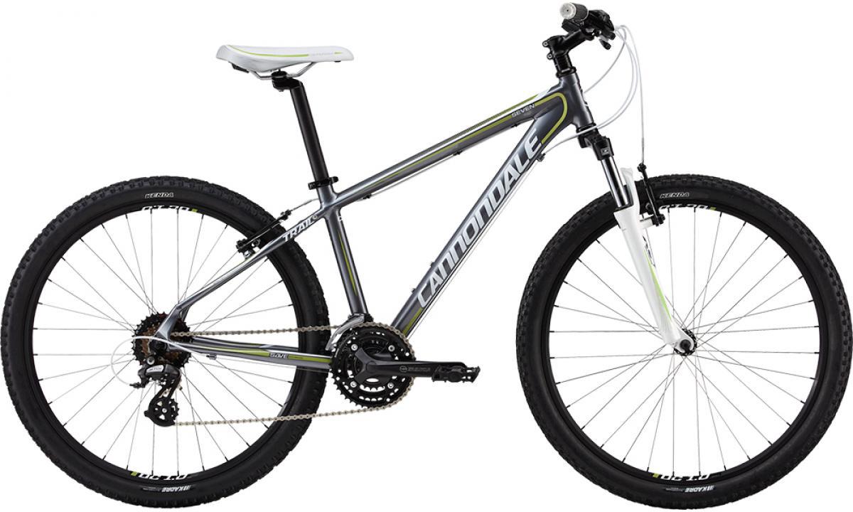 Велосипед женский Cannondale Trail Womens 7 2013, цвет: белый, рама 14, колесо 26111790