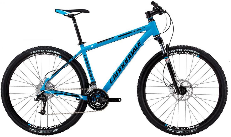 Велосипед горный Cannondale Trail SL 29er 2 2013, цвет: синий, рама 23, колесо 29111800