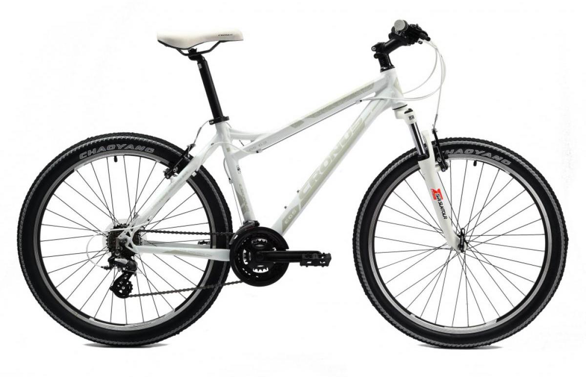 Велосипед женский Cronus EOS 0.3 2014, цвет: белый, рама 17,5, колесо 26112147