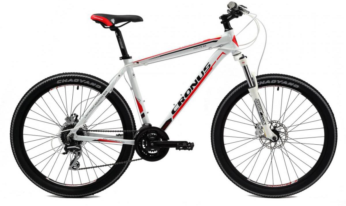 Велосипед горный Cronus Holts 3.0 2014, цвет: белый, рама 21, колесо 26112164