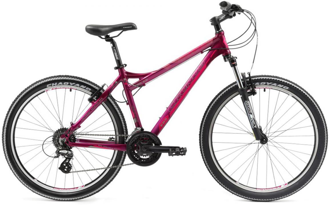 Велосипед женский Cronus EOS 0.5 2014, цвет: фиолетовый, рама 17,5, колесо 26112165