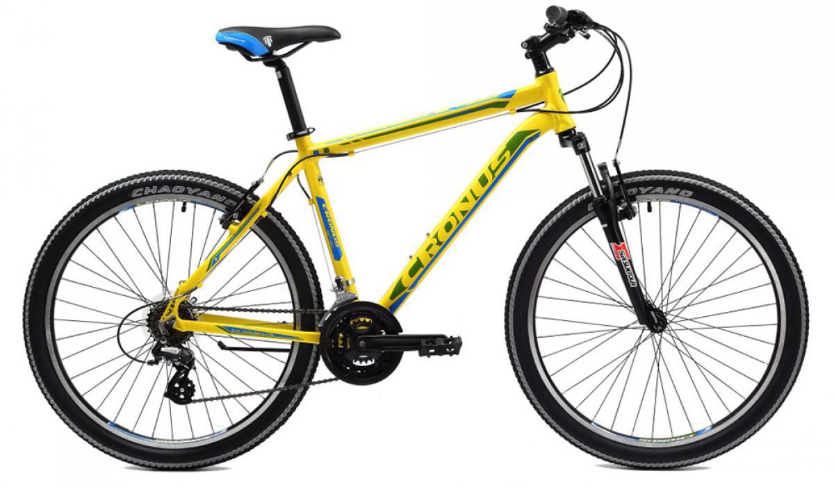 Велосипед горный Cronus Coupe 2.0 2014, цвет: желтый, рама 19, колесо 26112167