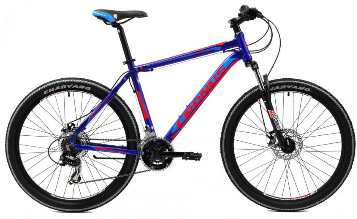 Велосипед горный Cronus Coupe 1.0 2014, цвет: синий, рама 17,5, колесо 26115541