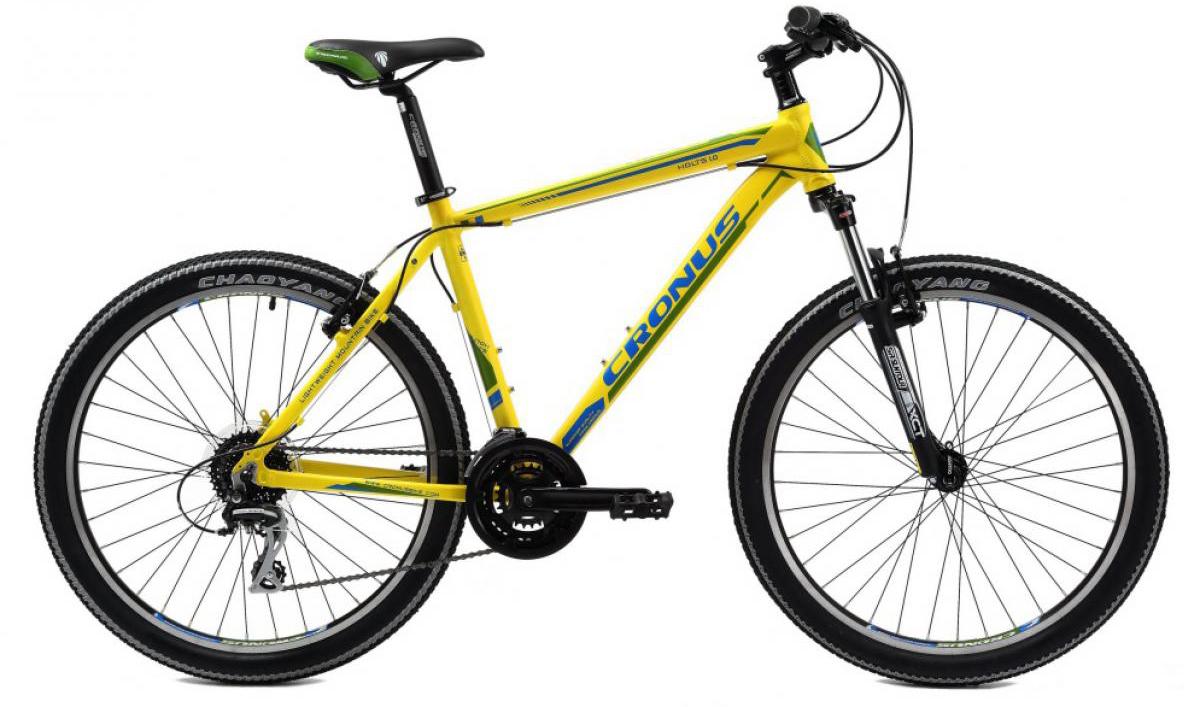 Велосипед горный Cronus Holts 1.0 2014, цвет: желтый, рама 21, колесо 26115671