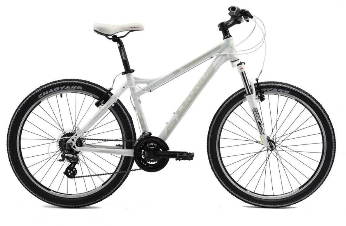 Велосипед женский Cronus EOS 0.5 2014, цвет: белый, рама 17,5, колесо 26115737