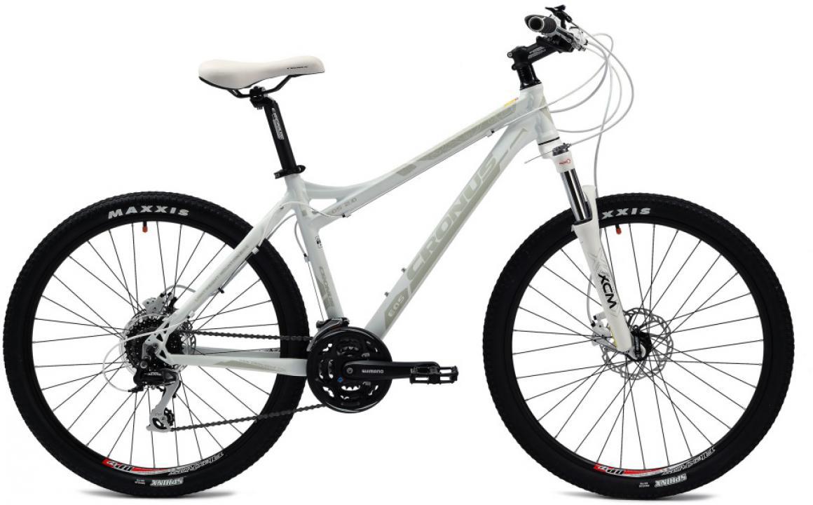 Велосипед женский Cronus EOS 2.0 2014, цвет: серый, рама 19, колесо 26115748