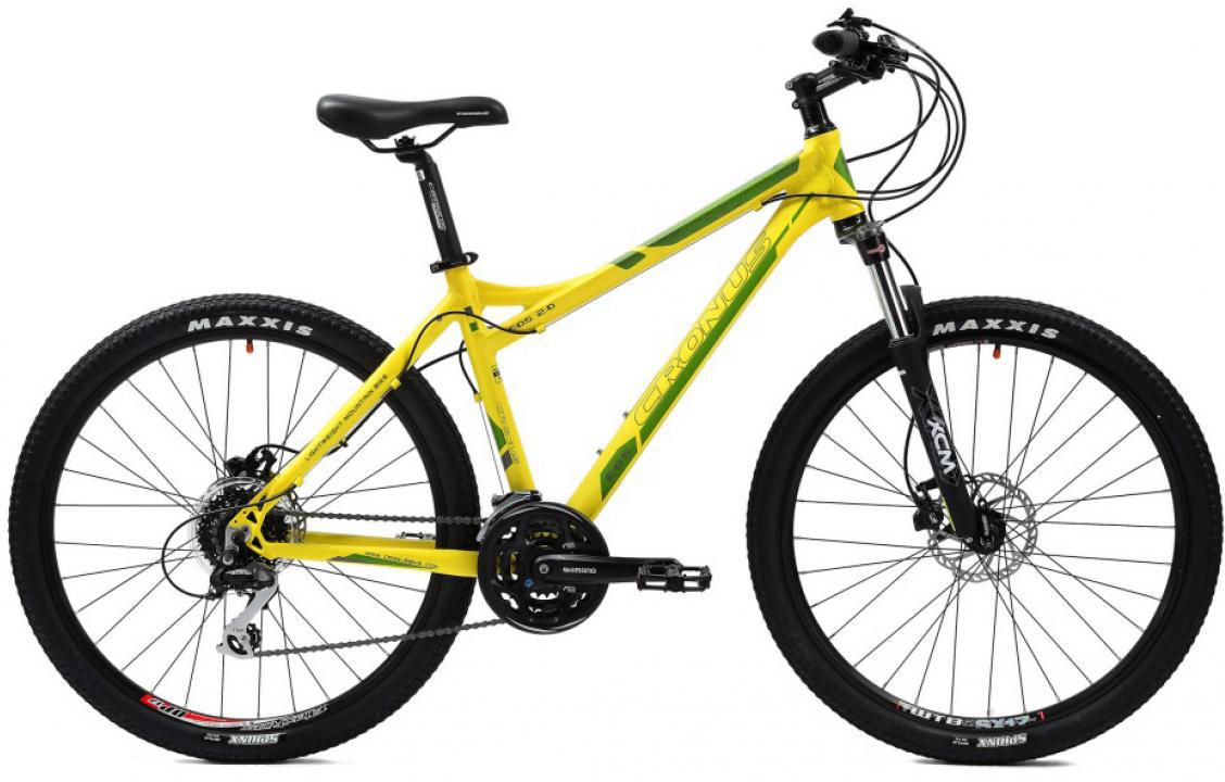 Велосипед женский Cronus EOS 2.0 2014, цвет: желтый, рама 19, колесо 26115750