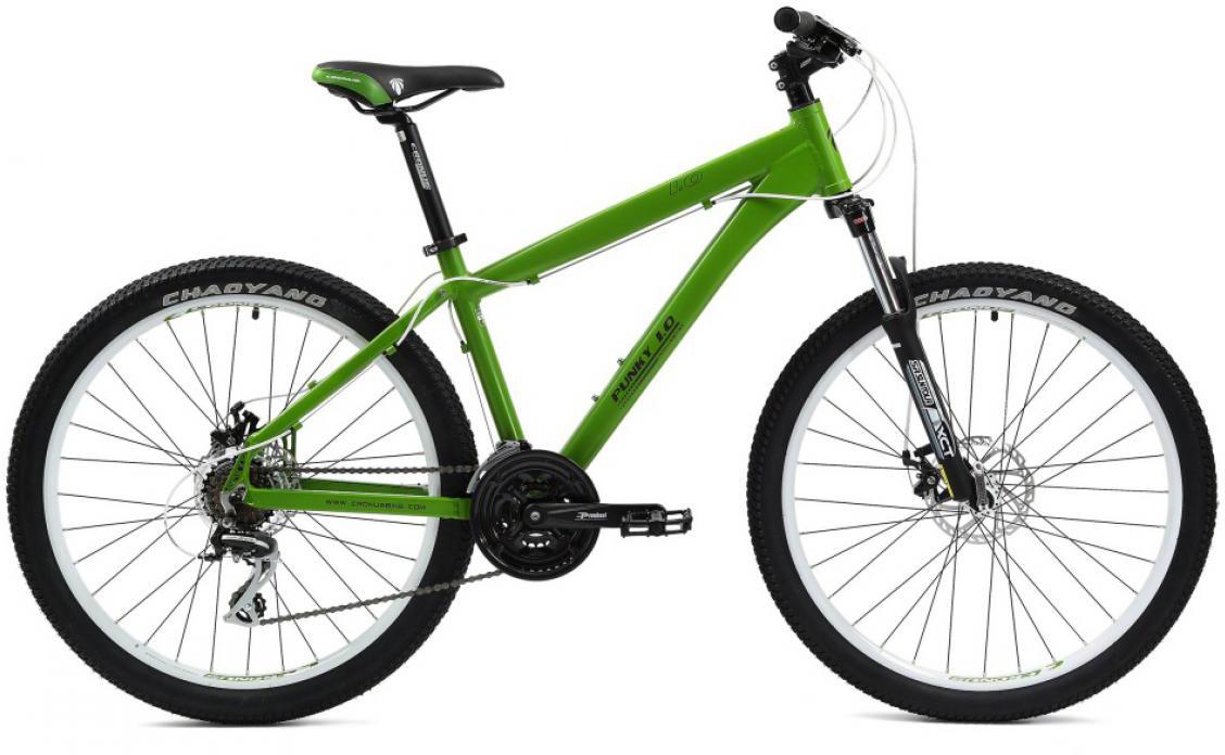 Велосипед трюковой Cronus Punky 1.0 2014, цвет: зеленый, рама 18, колесо 26115785