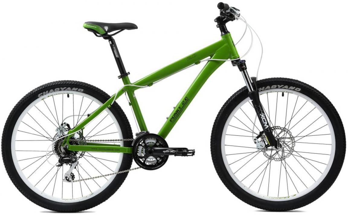 Велосипед трюковой Cronus Punky 2.0 2014, цвет: зеленый, рама 18, колесо 26115789