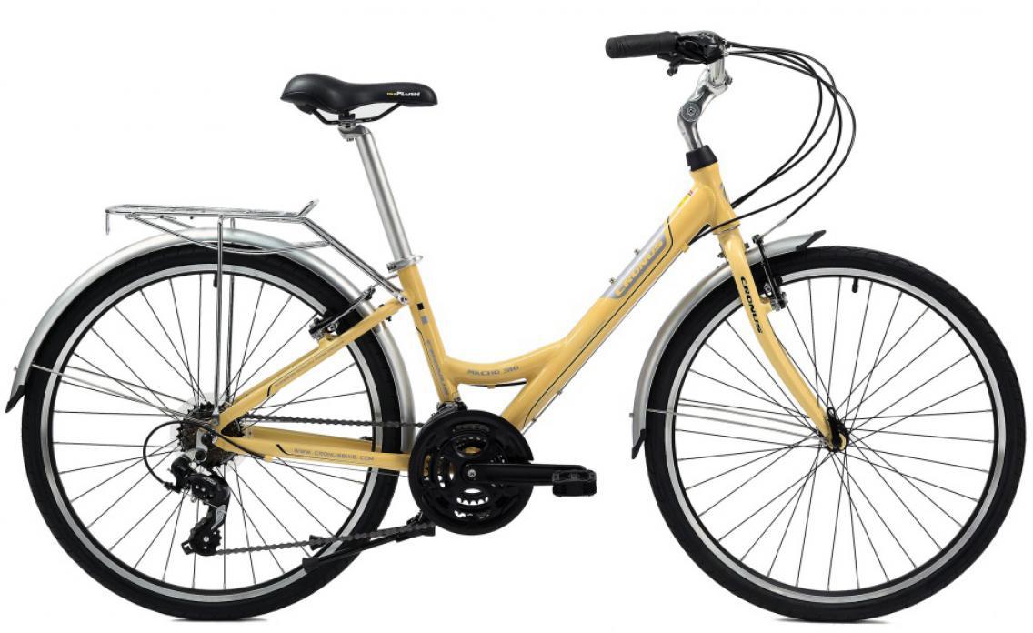 Велосипед городской Cronus Macho 310 2014, цвет: желтый, рама 14,5, колесо 26115801
