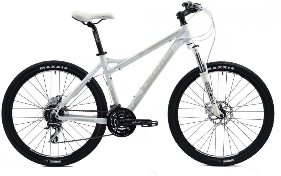 Велосипед женский Cronus EOS 1.0 2014, цвет: серый, рама 19, колесо 26116467