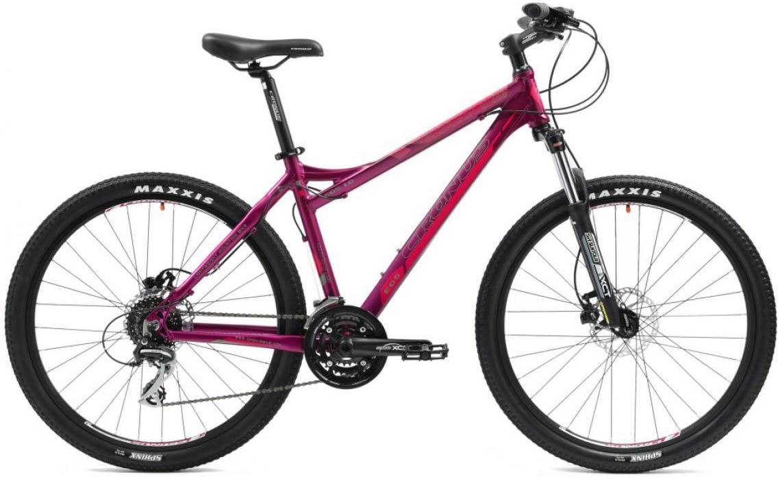 Велосипед женский Cronus EOS 1.0 2014, цвет: фиолетовый, рама 16, колесо 26116470