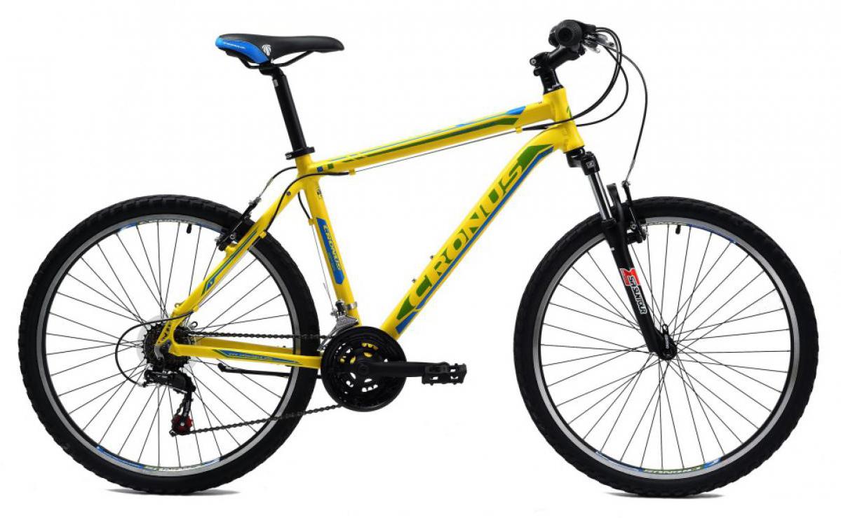 Велосипед горный Cronus Coupe 0.5 2014, цвет: желтый, рама 21, колесо 26116475