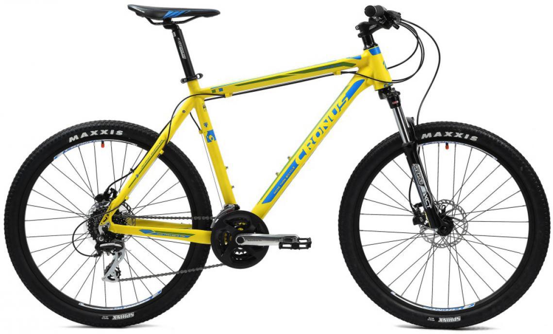 Велосипед горный Cronus Rover 1.0 2014, цвет: желтый, рама 17, колесо 26116486