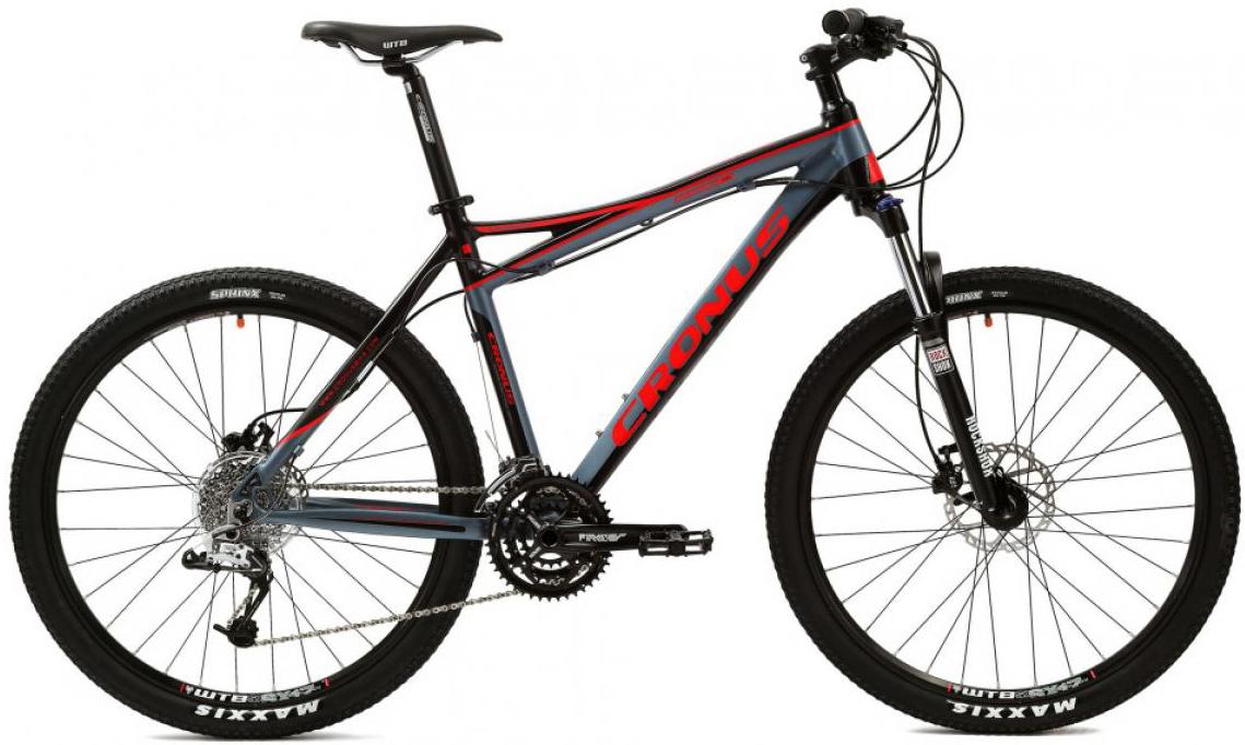 Велосипед горный Cronus Dynamic 1.0 2014, цвет: серый, рама 17,5, колесо 26120529