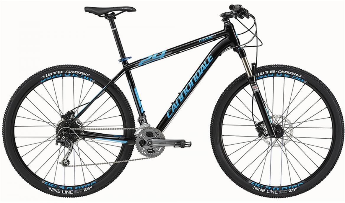 Велосипед горный Cannondale Trail 3 2015, цвет: черный, рама 14,5, колесо 27,5207897