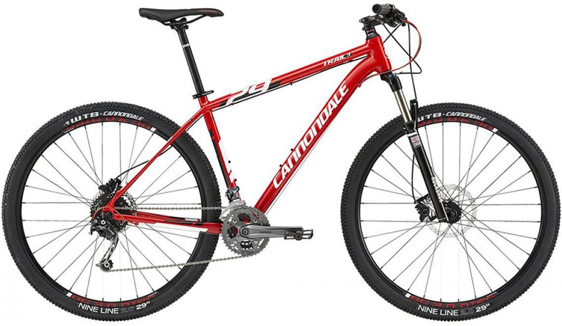 Велосипед горный Cannondale Trail 3 2015, цвет: красный, рама 24, колесо 29207908