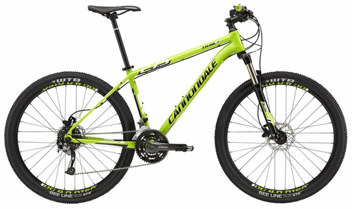 Велосипед горный Cannondale Trail 4 2015, цвет: зеленый, рама 14,5, колесо 27,5207909
