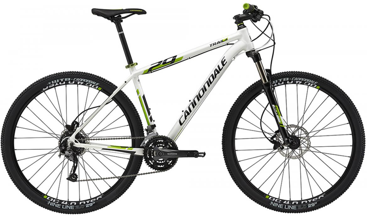 Велосипед горный Cannondale Trail 4 2015, цвет: белый, рама 14,5, колесо 27,5207911