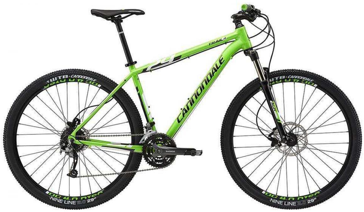 Велосипед горный Cannondale Trail 4 2015, цвет: зеленый, рама 18, колесо 29207913