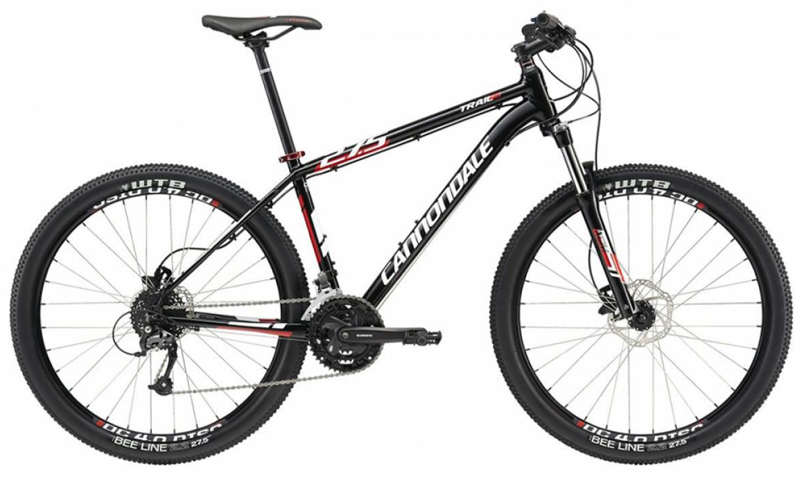 Велосипед горный Cannondale Trail 5 2015, цвет: черный, рама 14,5, колесо 27,5207921