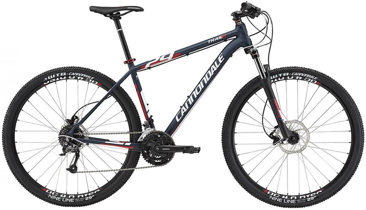 Велосипед горный Cannondale Trail 5 2015, цвет: синий, рама 24, колесо 29207932