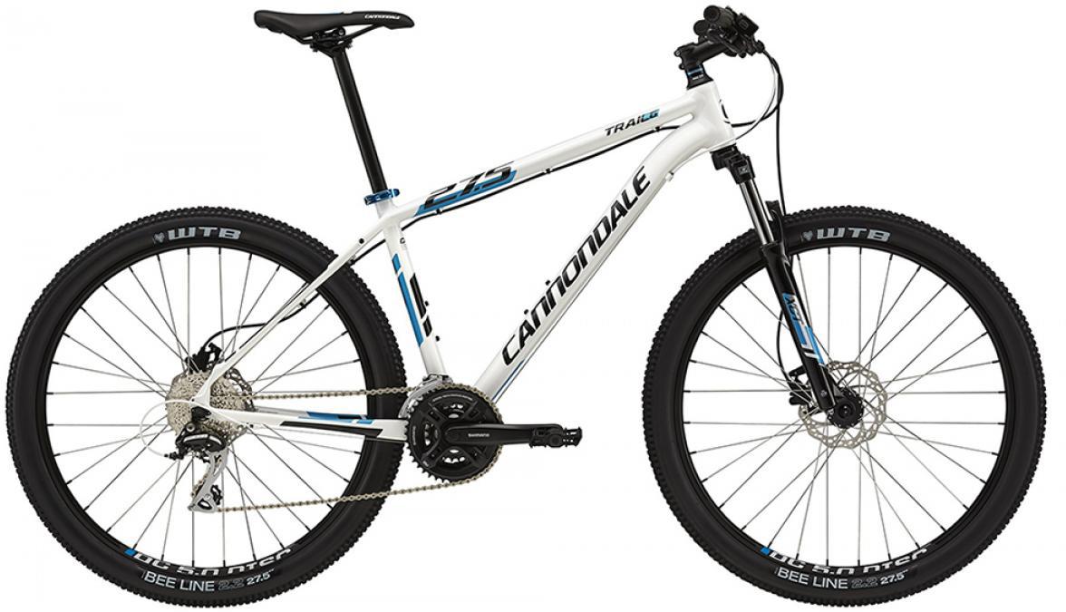 Велосипед горный Cannondale Trail 6 2015, цвет: белый, рама 14,5, колесо 27,5207933