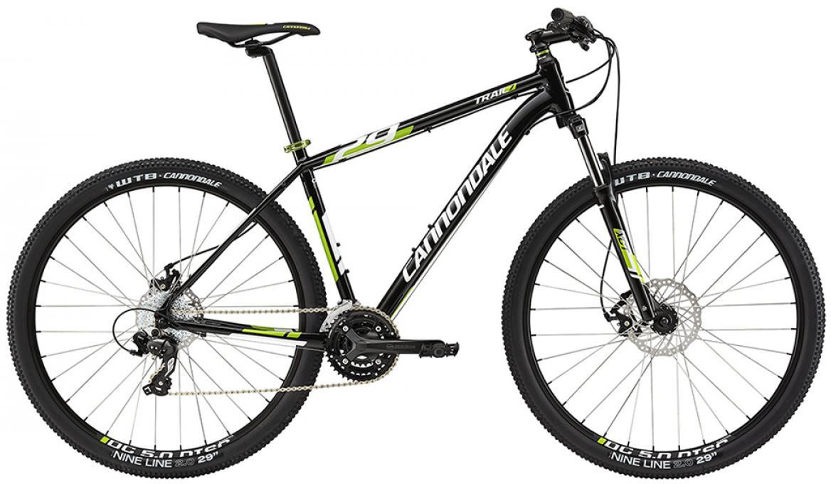 Велосипед горный Cannondale Trail 7 2015, цвет: черный, рама 14,5, колесо 29207939
