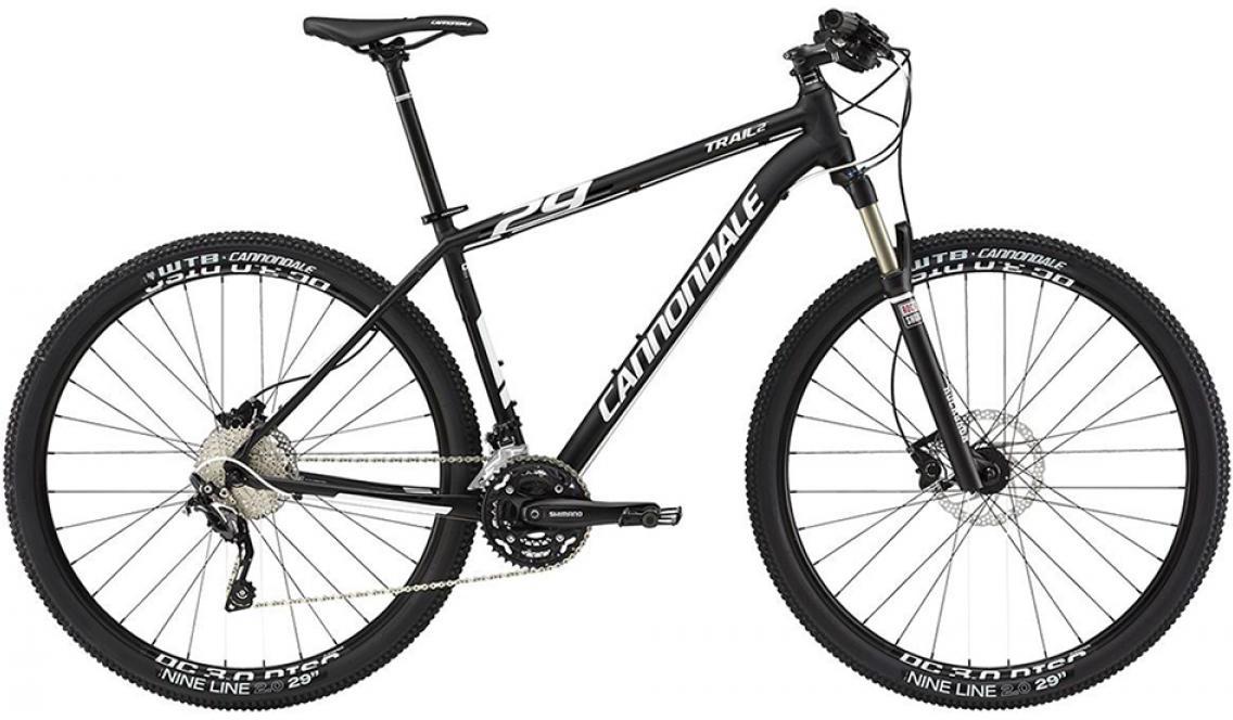 Велосипед горный Cannondale Trail 2 2015, цвет: черный, рама 22, колесо 29208016