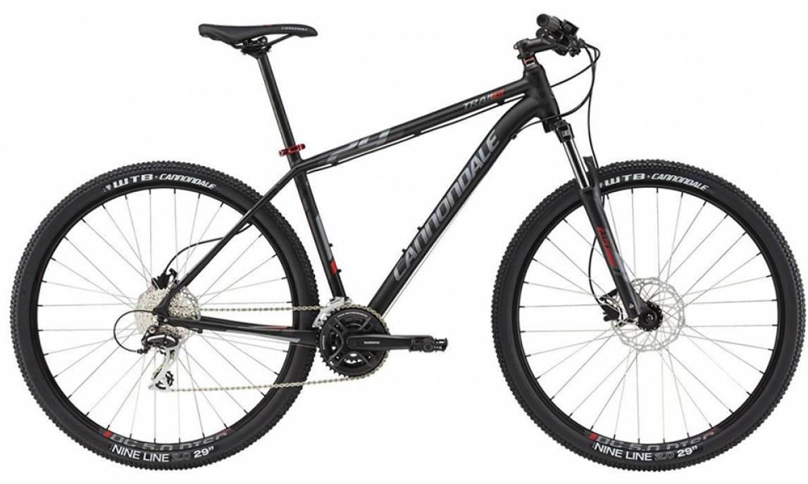 Велосипед горный Cannondale Trail 6 2015, цвет: черный, рама 22, колесо 29208062