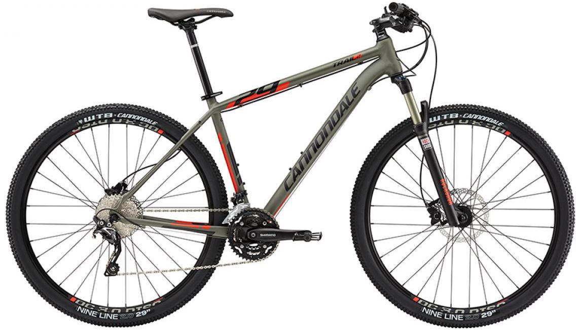 Велосипед горный Cannondale Trail 2 2015, цвет: серый, рама 14,5, колесо 27,5209549