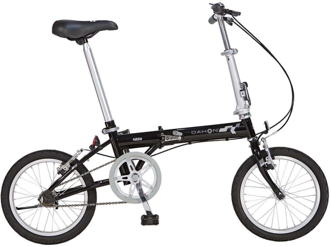 Велосипед складной Dahon Pop Uno 2015, цвет: черный, колесо 16 топ uno super shine отзывы