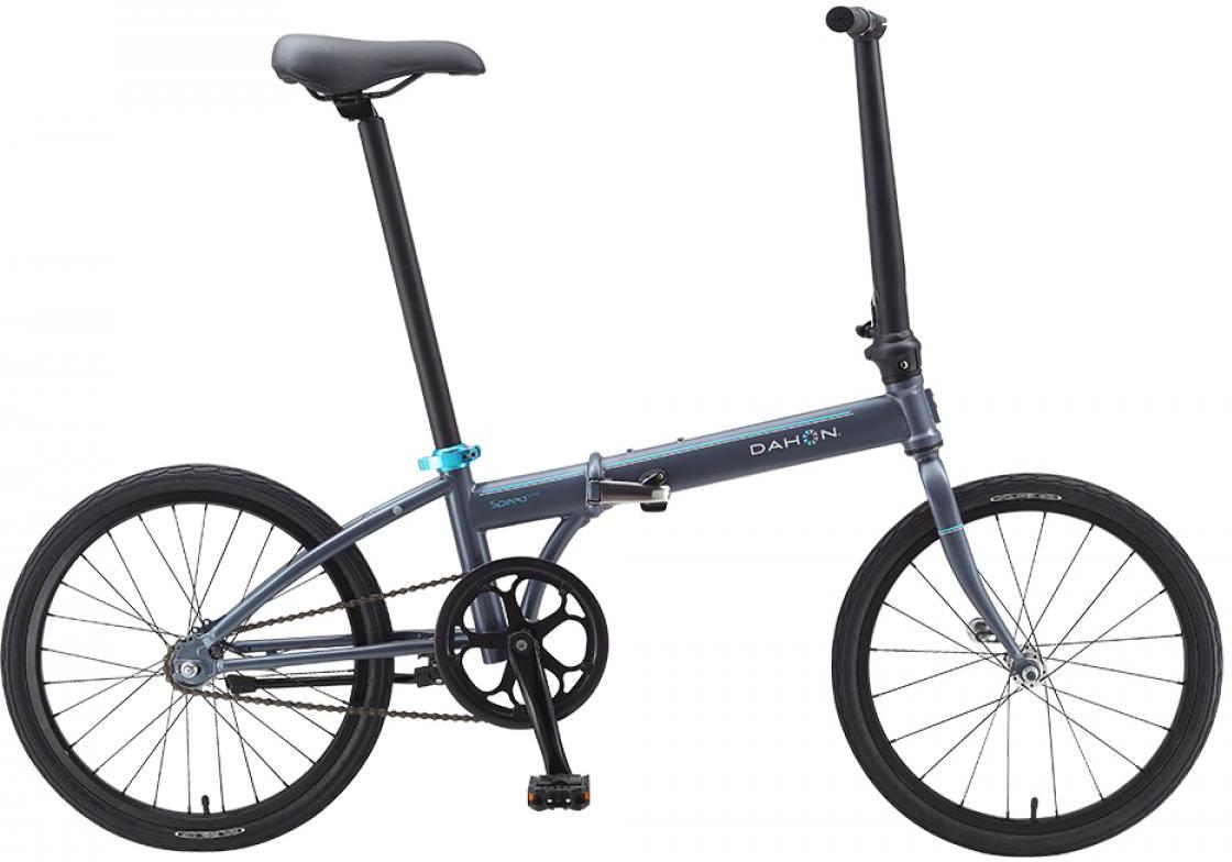 Велосипед складной Dahon Speed Uno 2015, цвет: серый, колесо 20 топ uno super shine отзывы