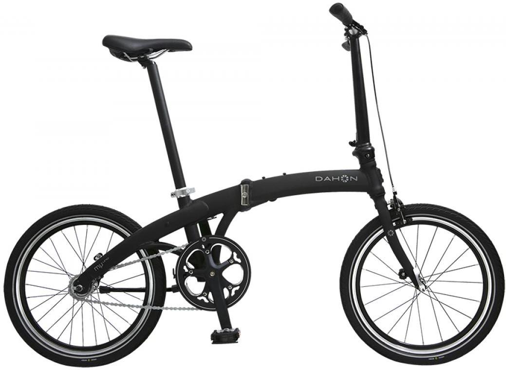 Велосипед складной Dahon Mu uno 2015, цвет: черный, колесо 20