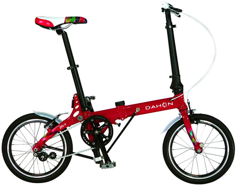 Велосипед складной Dahon JiFo Uno 2015, цвет: красный, колесо 16 топ uno super shine отзывы