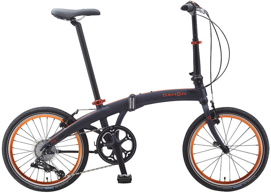 Велосипед складной Dahon Mu D8 2015, цвет: черный, колесо 20