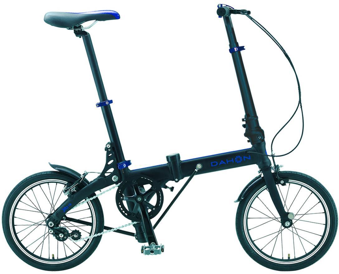 Велосипед складной Dahon JiFo Uno 2015, цвет: черный, колесо 16 топ uno super shine отзывы
