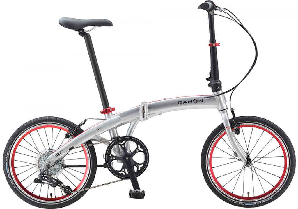 Велосипед складной Dahon Mu D8 2015, цвет: серый, колесо 20