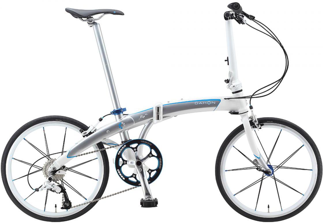 Велосипед складной Dahon Mu SL 10 2015, цвет: белый, колесо 20221856