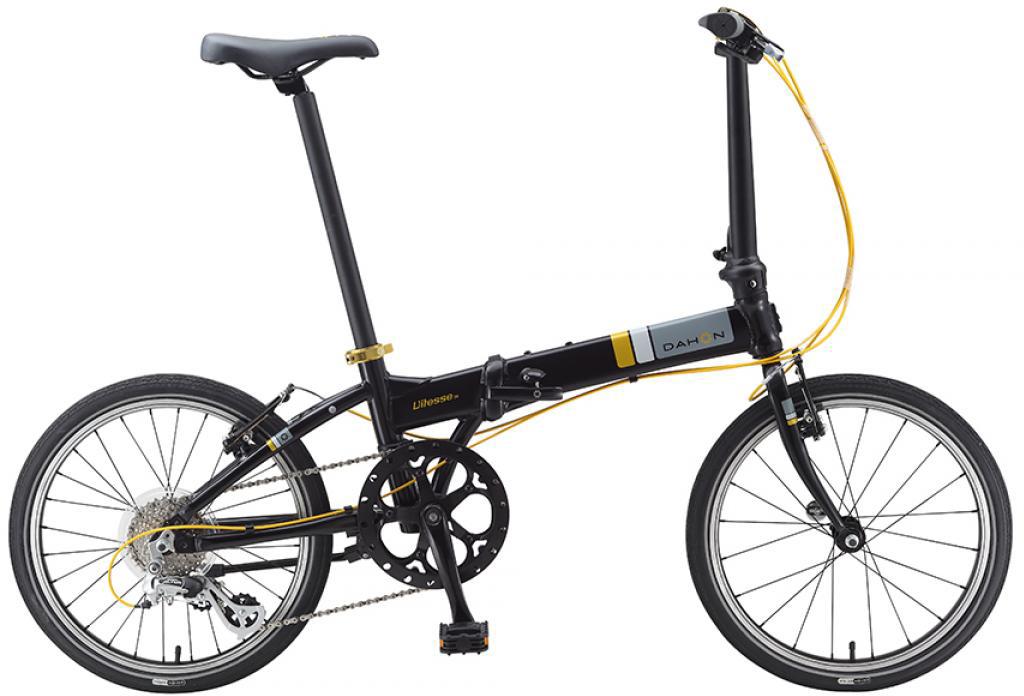 Велосипед складной Dahon Vitesse D8 2015, цвет: черный, колесо 20